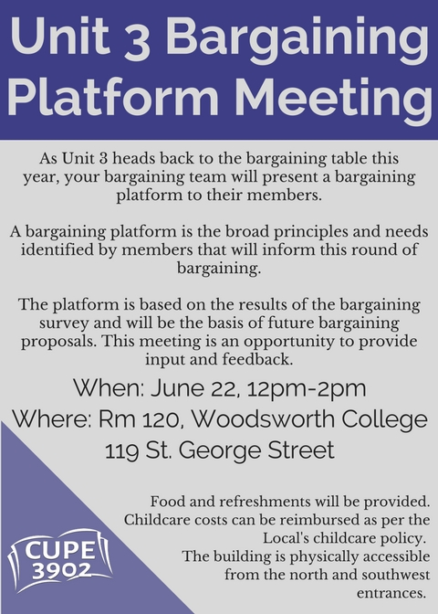 Unit 3 BargainingPlatform Meeting